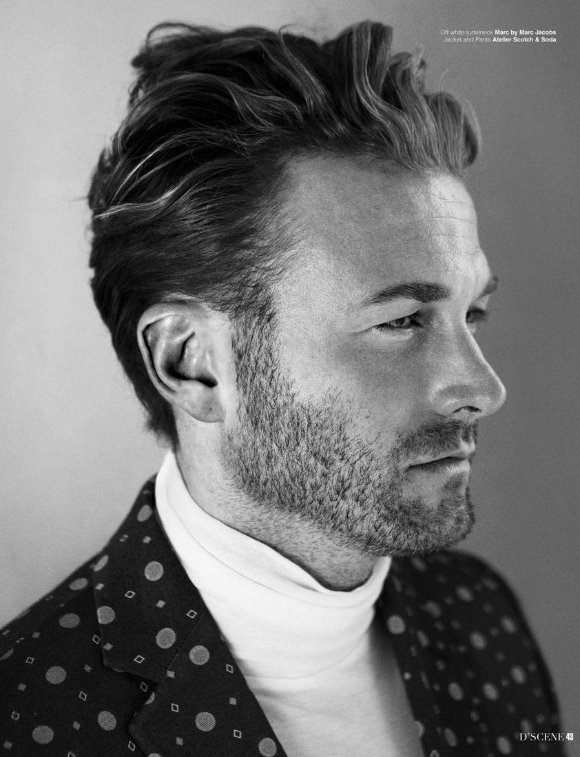 Brad Kroenig for D'SCENE - KULT Model Agency