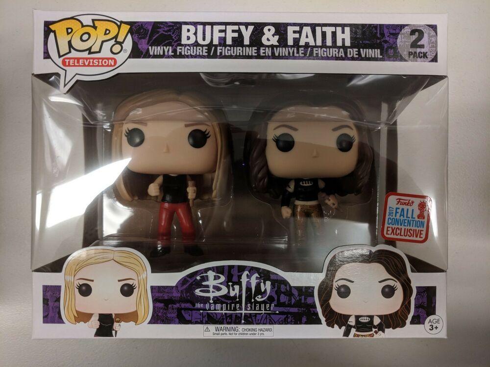 New Funko Pop Buffy Faith 2 Pack Vampire Slayer 2017 Nycc Exclusive Affilink Funko Funkopop Pop Dolls Popd Vinyl Figures Buffy Funko Pop Vinyl