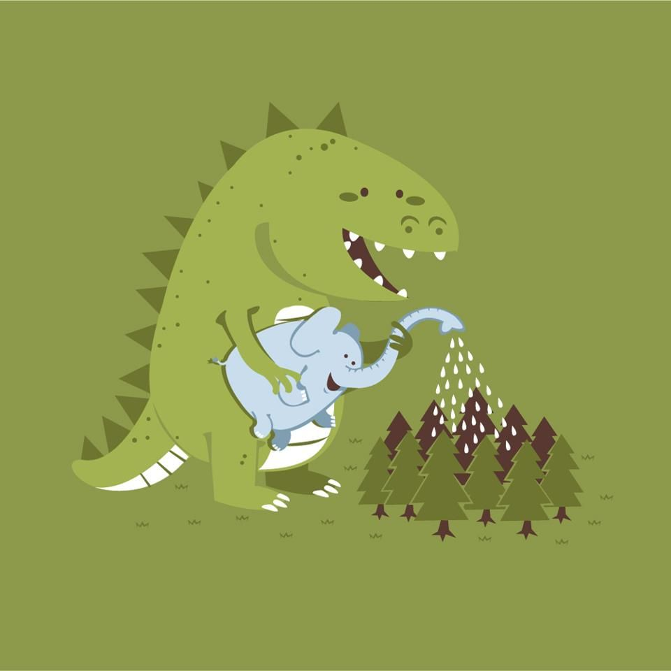 Pin By Jessica On Cute Baby Illustrations Dinosaur