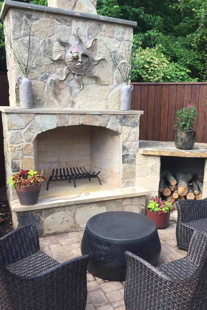 30 Amazing Outdoor Fireplace Ideas | Outdoor, Outdoor ... on Amazing Outdoor Fireplaces id=84217