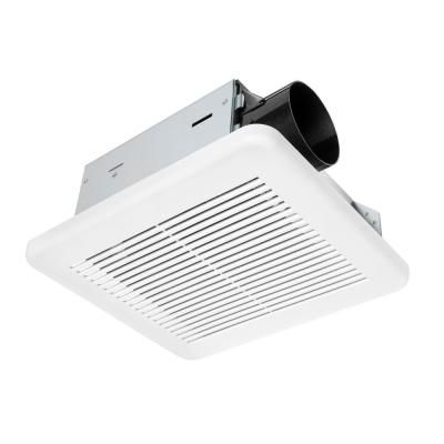 Hampton Bay 50 Cfm Wall Ceiling Mount Roomside Installation Bathroom Exhaust Fan Energy Star 7114 01 The Home Depot In 2020 Bathroom Exhaust Fan Bathroom Exhaust Exhaust Fan