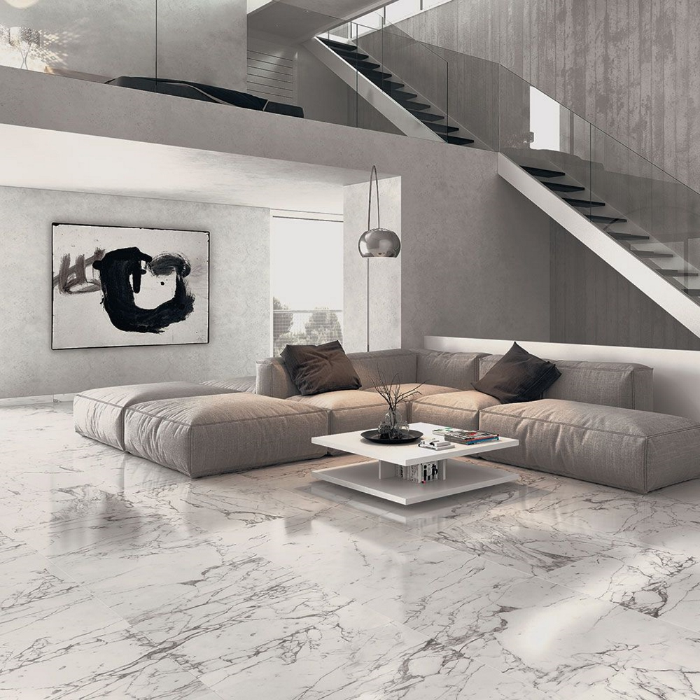 Bello Marble Effect Floor Tile 750 x 750mm Polished - 1.68 m2