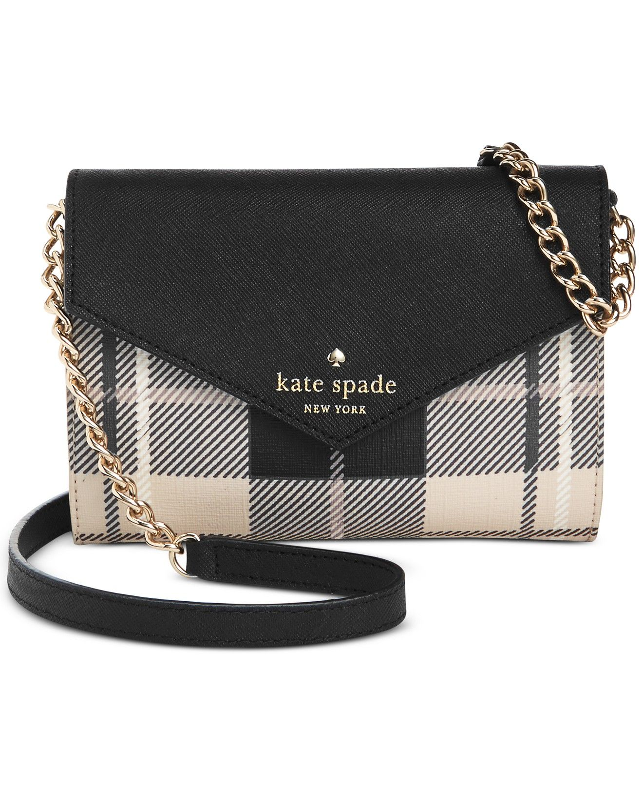 Kate Spade New York Fairmount Square Monday Crossbody Messenger Bags Handbags Accessories Macys Women S Wallets