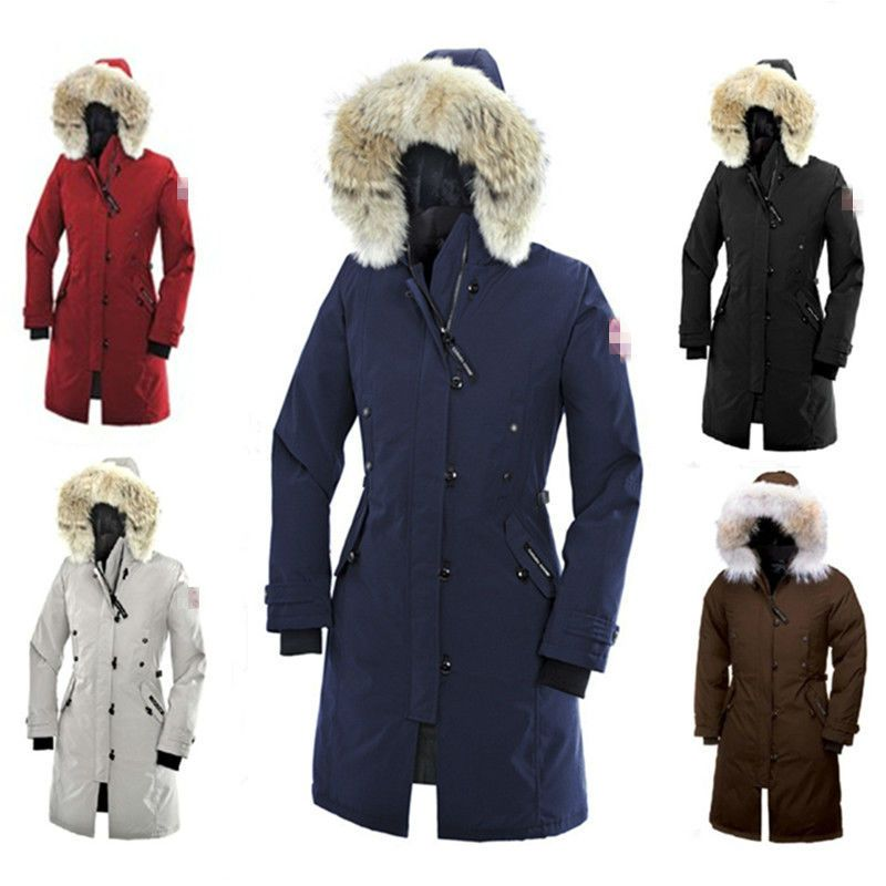 canada goose faux fur hood