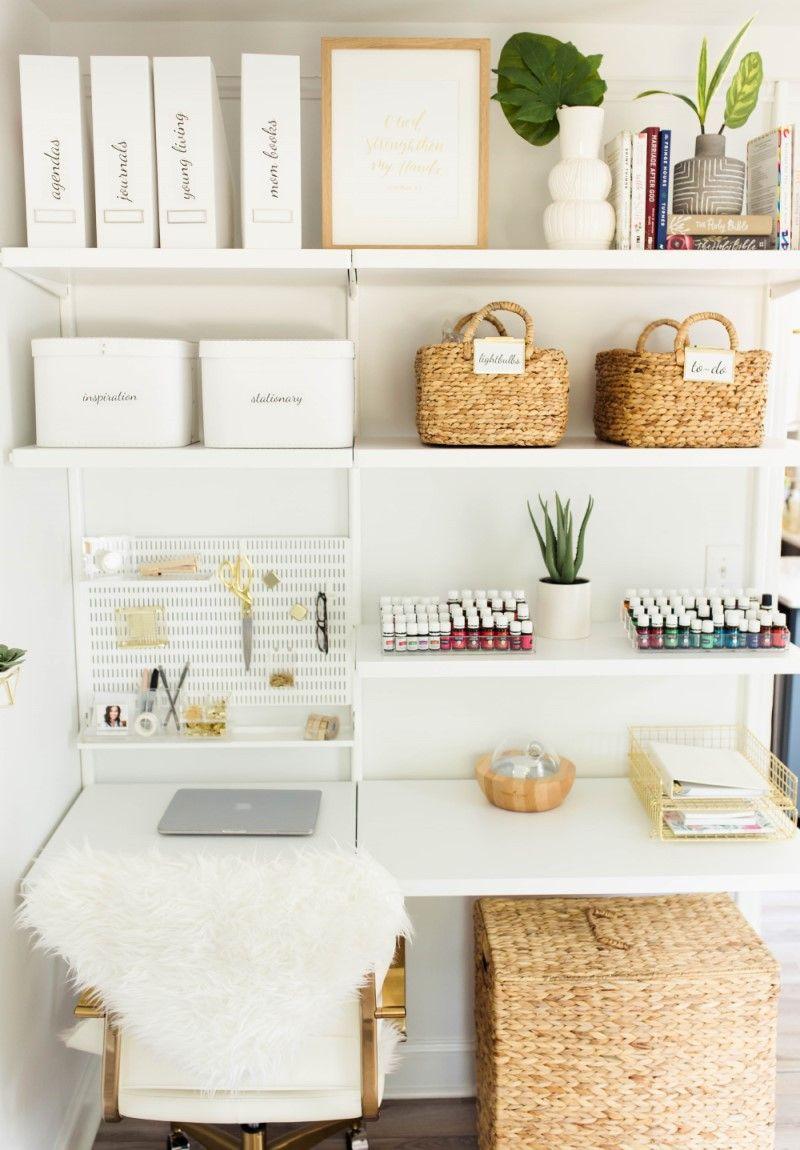 Ashley Terkeurst Hodges S Amazing Office Makeover Home Office Organization Home Office Decor Diy Office Decor