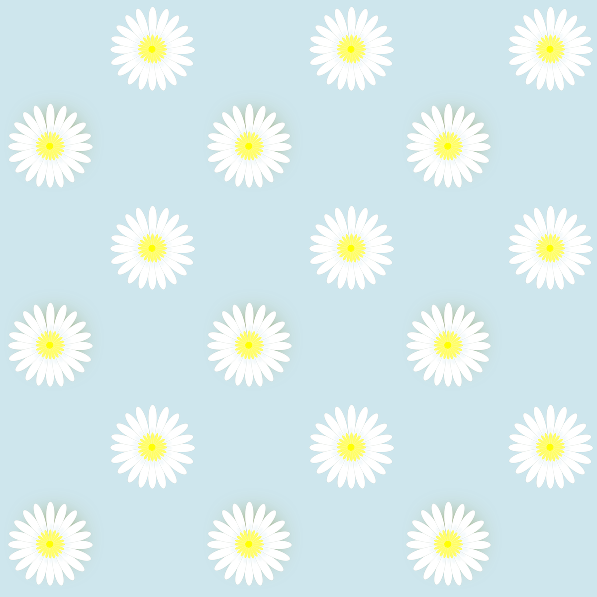 Free digital daisy flower scrapbooking papers - Scrapbook background free printables ...