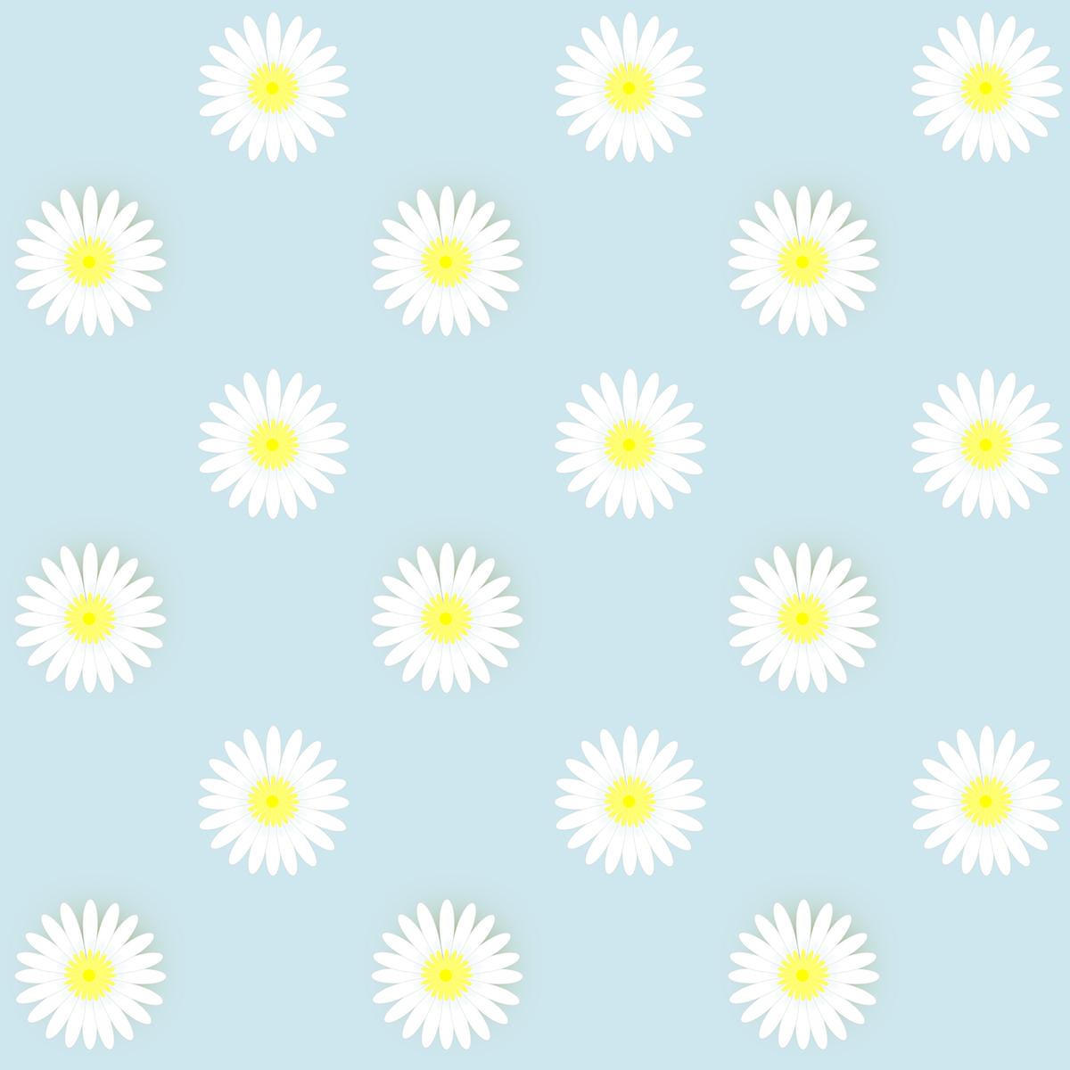 Free Digital Daisy Flower Scrapbooking Papers Ausdruckbare