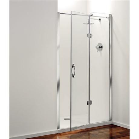 Coram Frameless Premier Hinged Shower Door Right Hand Open 4