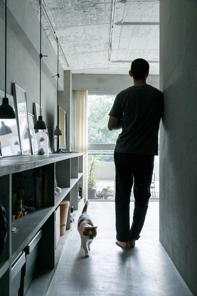 Photo of 築50年のマンションをリノベスター猫と暮らすモダンでシンプルな空間