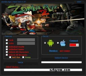 Zombie Age 2 Hack Tool No Survey Updated Cheats Engine Free