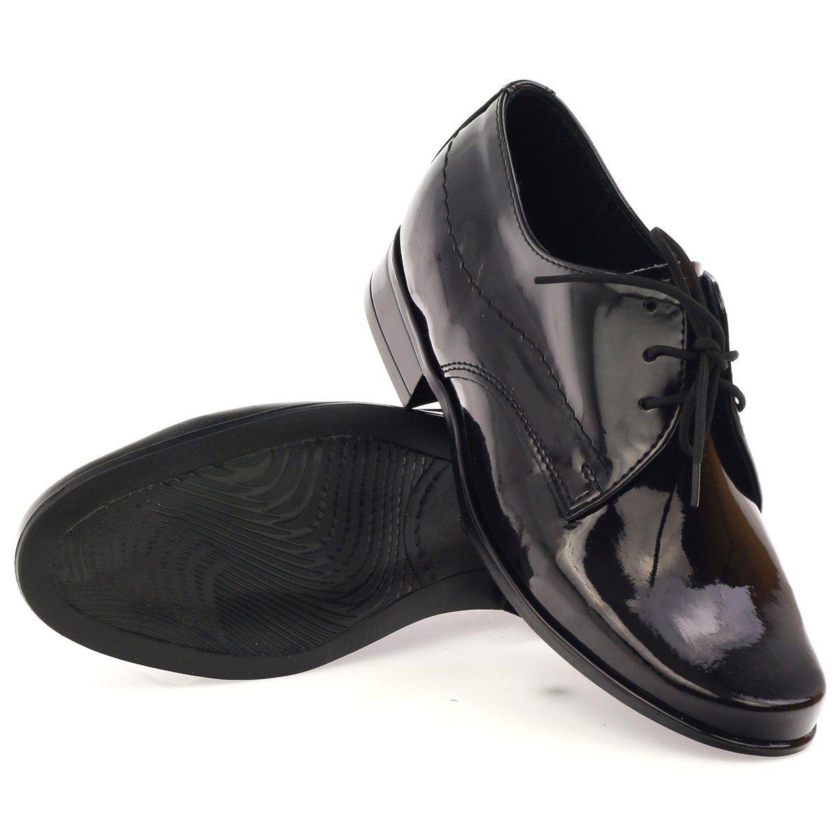 Czarne Lakierowane Buty Dzieciece Komunijne Gregors 429 Childrens Shoes Shoes Childrens Slippers