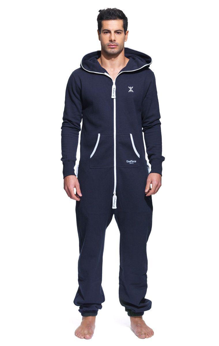 Original Onesie Navy Jumpsuit Onepiece Us In 2021 Mens Onesie Jumpsuit Men Mens Outfits [ 1200 x 760 Pixel ]