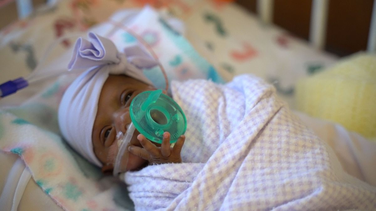 La Bebe Mas Pequena Del Mundo Nacio En Estados Unidos Midio 23