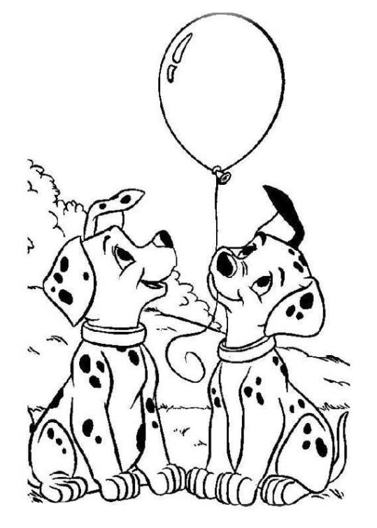 101 dalmatiner 18 | Color me pretty - Cats & Dogs | Pinterest | 101 ...