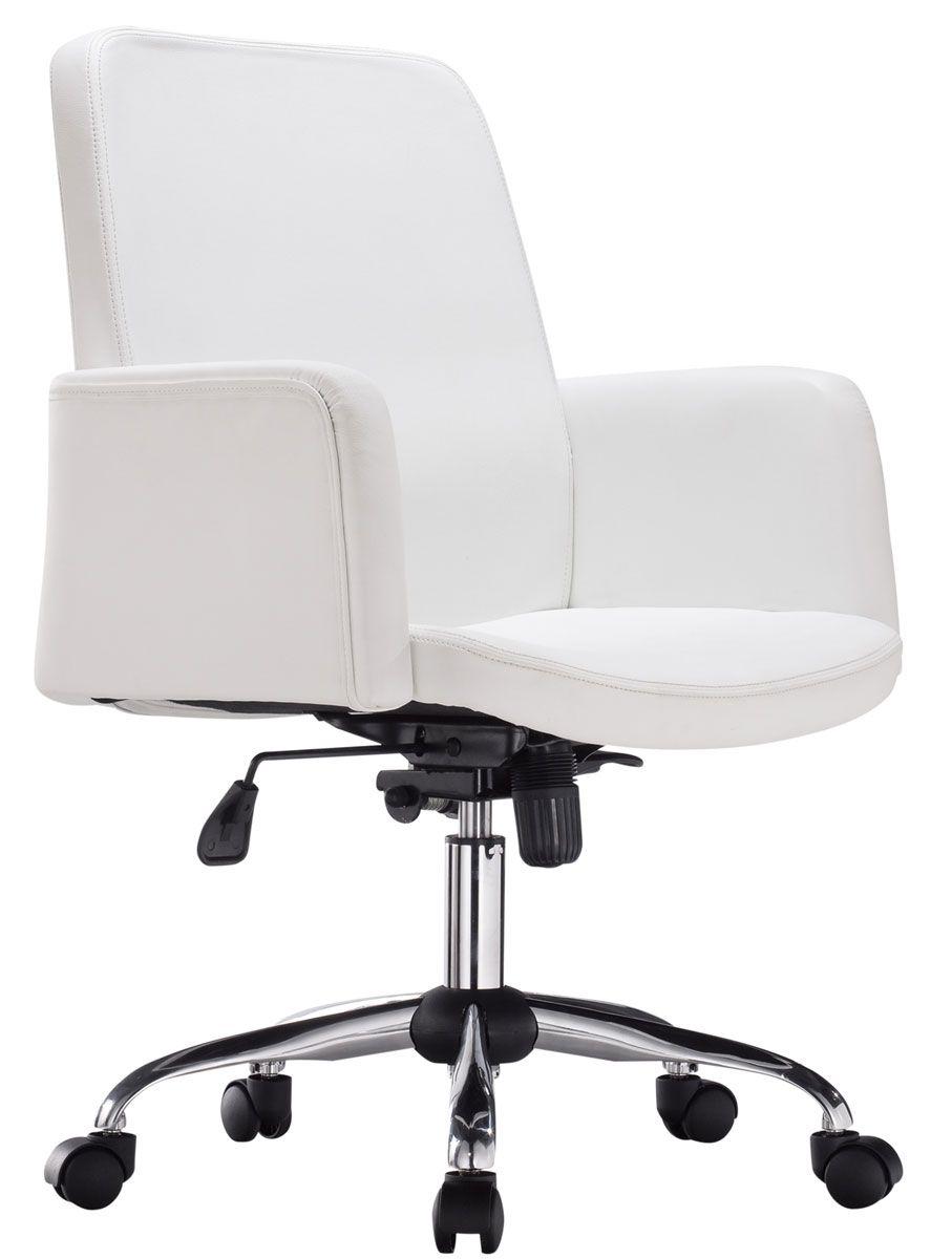 Chaise Bureau Blanc Fauteuil Ergonomique Pour Ordinateur Cardagram