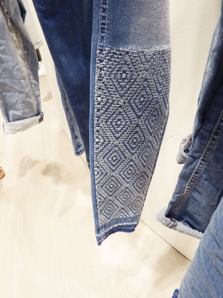 9aa60de42 Denim Craft DIY Trend Council Calças De Ganga Justas