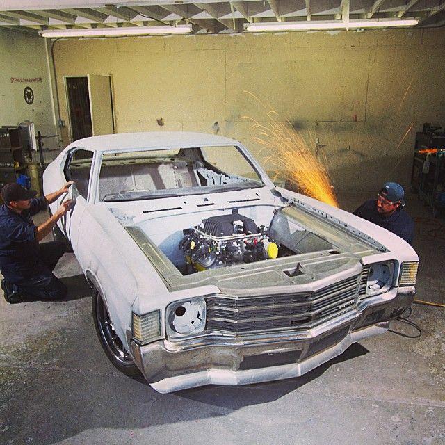 jcg customs protouring chevelle build custom front bumper ls9