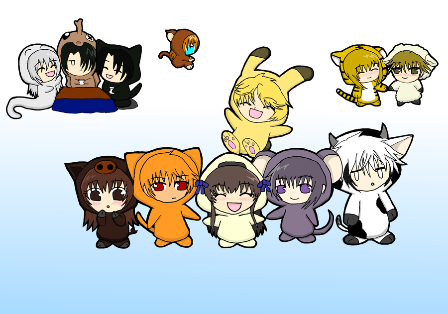 Fruits Basket Chibis by on