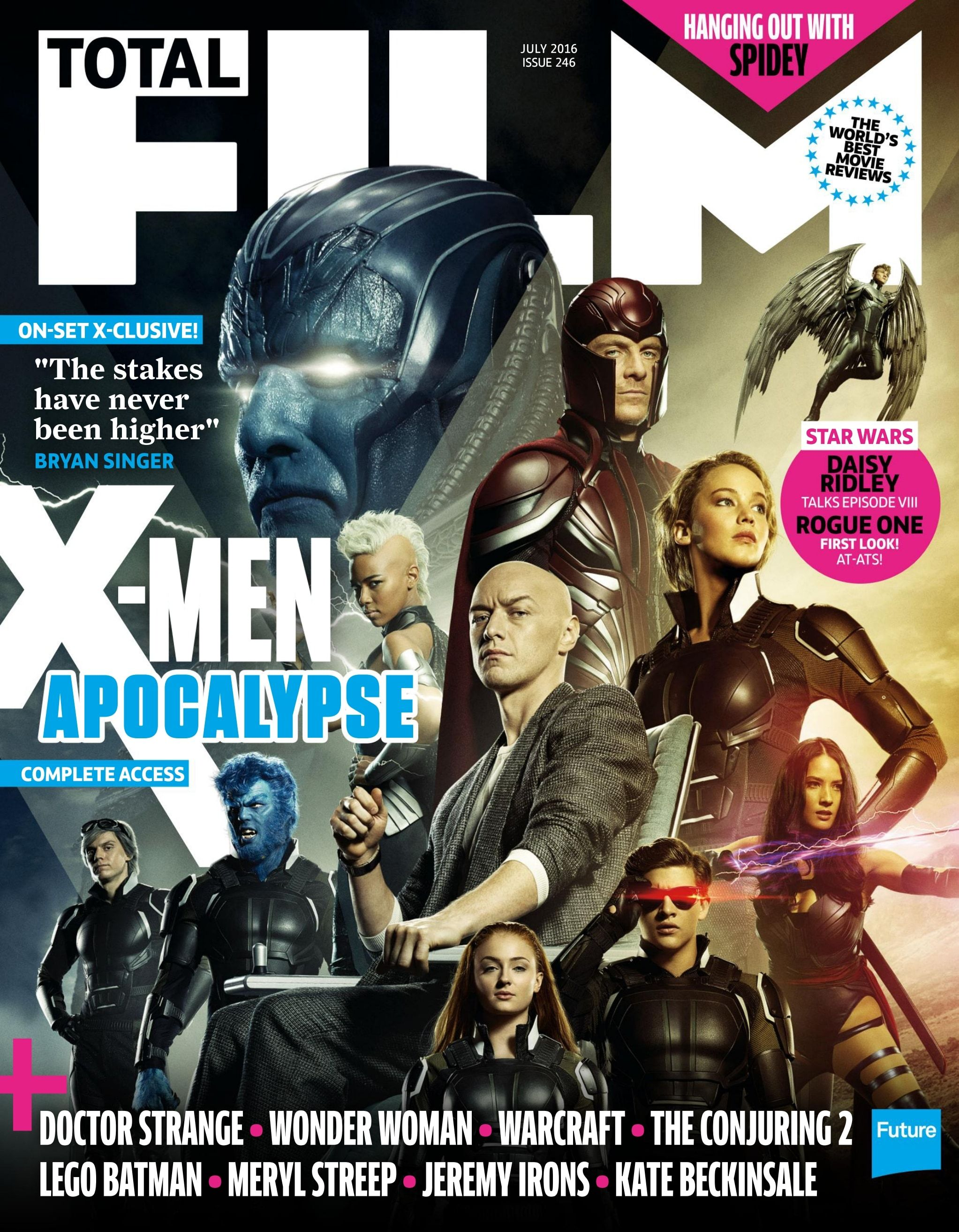 Total Film X Men Apocalypse Doctor Strange Apocalypse
