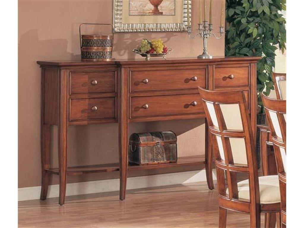 Winners Only Dining Room Americana Cherry Sideboard DJ470B ...