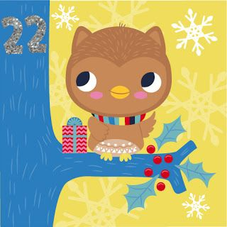 fhiona galloway illustration blog: Advent 22