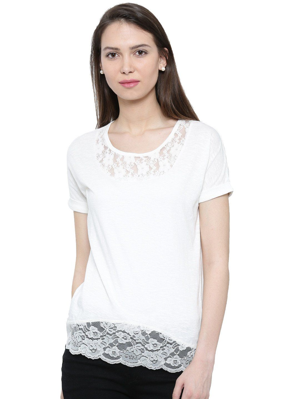c564fe0f8407 De Moza Ladies Knit Top Half Sleeve Cotton Offwhite #fashiondeals #blogger # tops #legging #bloggerfashion #jogger #bloggerbabes #pants #bloggergirl #  ...