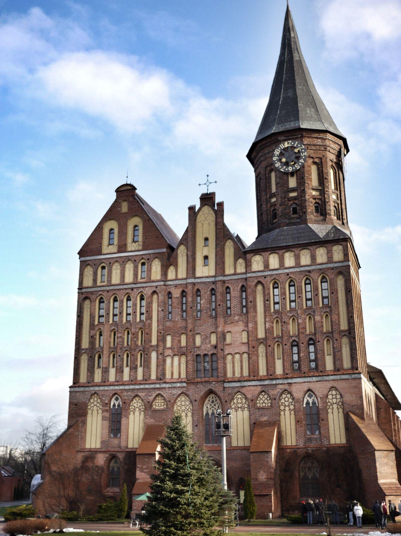 Kaliningrad, Russia.Кёнигсберг — название, которое носил Калининград в период до 1946 года. В период с 1773 по 1945 годы город являлся центром провинции Восточная Пруссия. В этом костеле находится могила Иммануила Канта.
