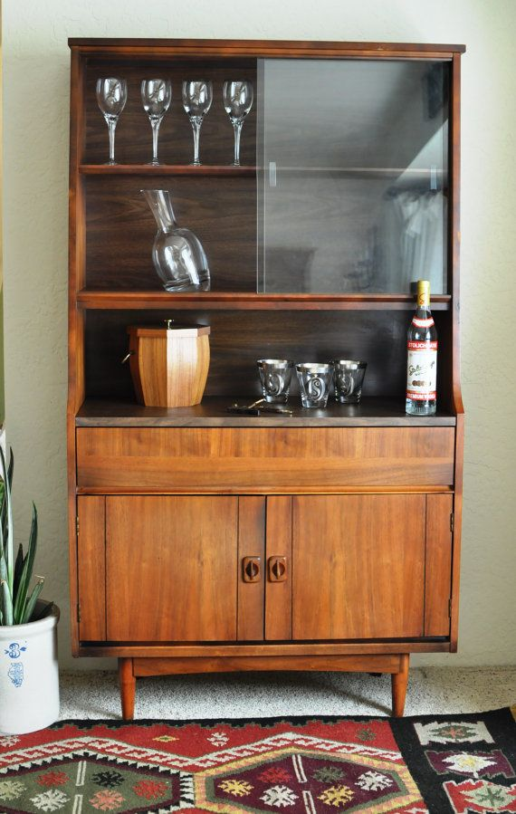 MCM Dry Bar Liquor Cabinet/Vintage Danish Modern China by EuroFair ...