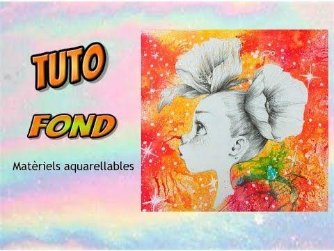 Coloriage Adulte Tuto.Tuto Fond Avec Materiels Aquarellables Coloriage Adulte Youtube
