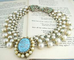Antique Pearls set