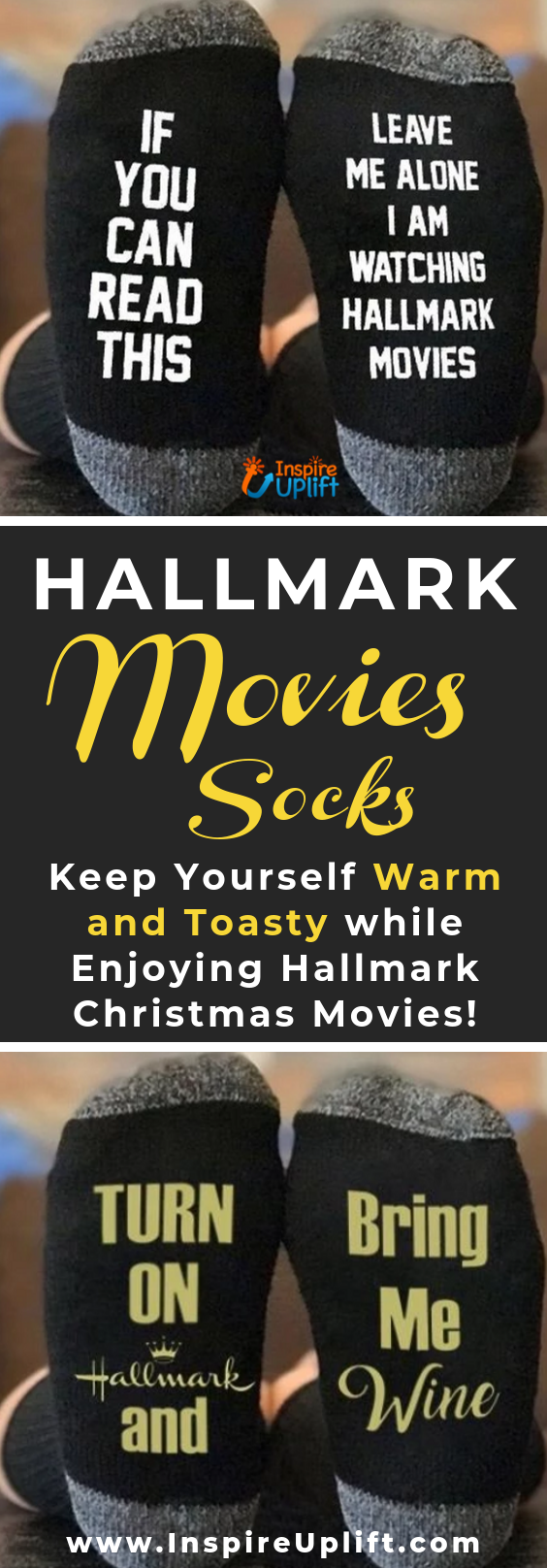 Hallmark Movies Socks 😍