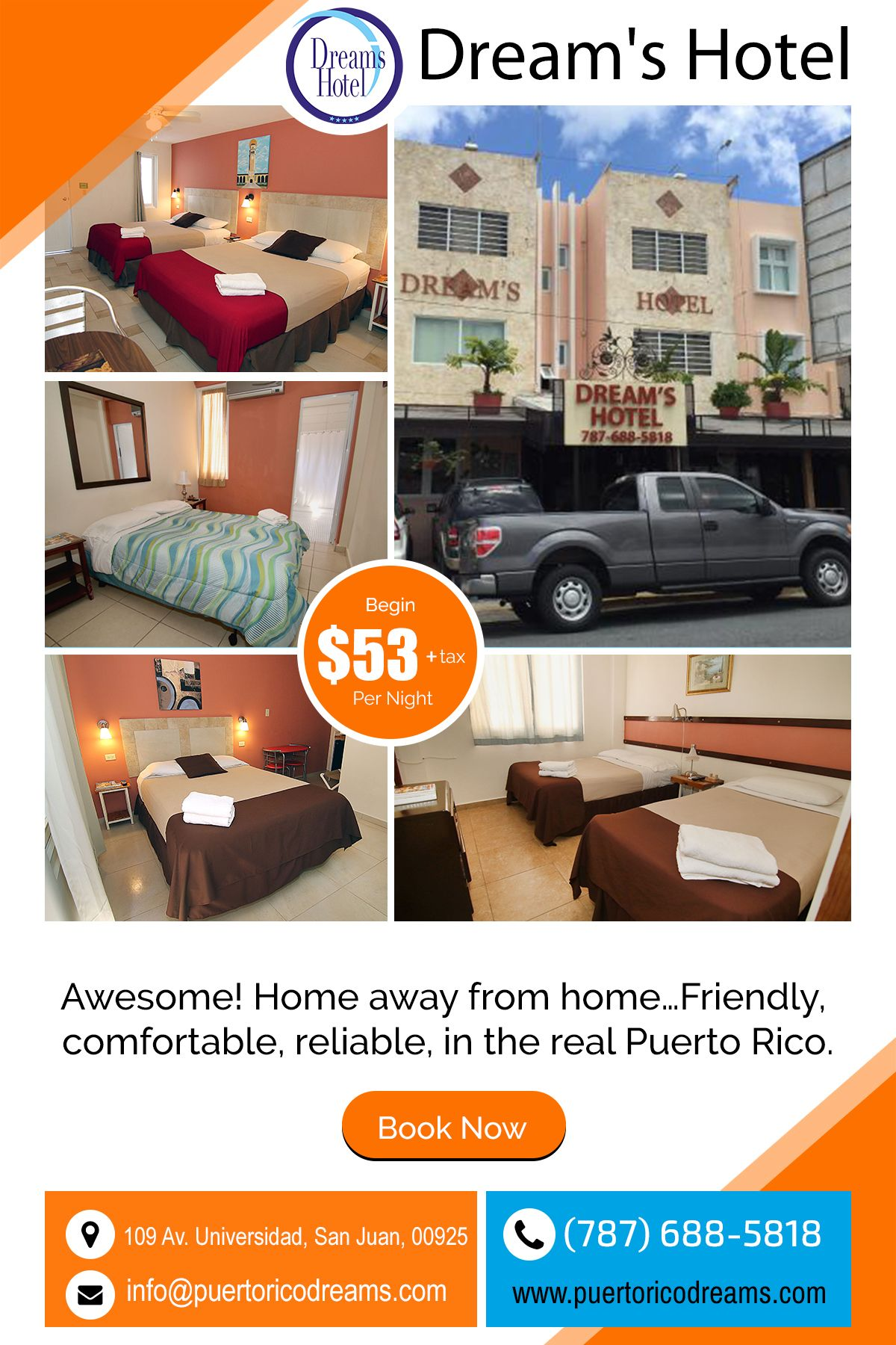 Dream S Hotel Puerto Rico Wonderful Place To Stay For A Short