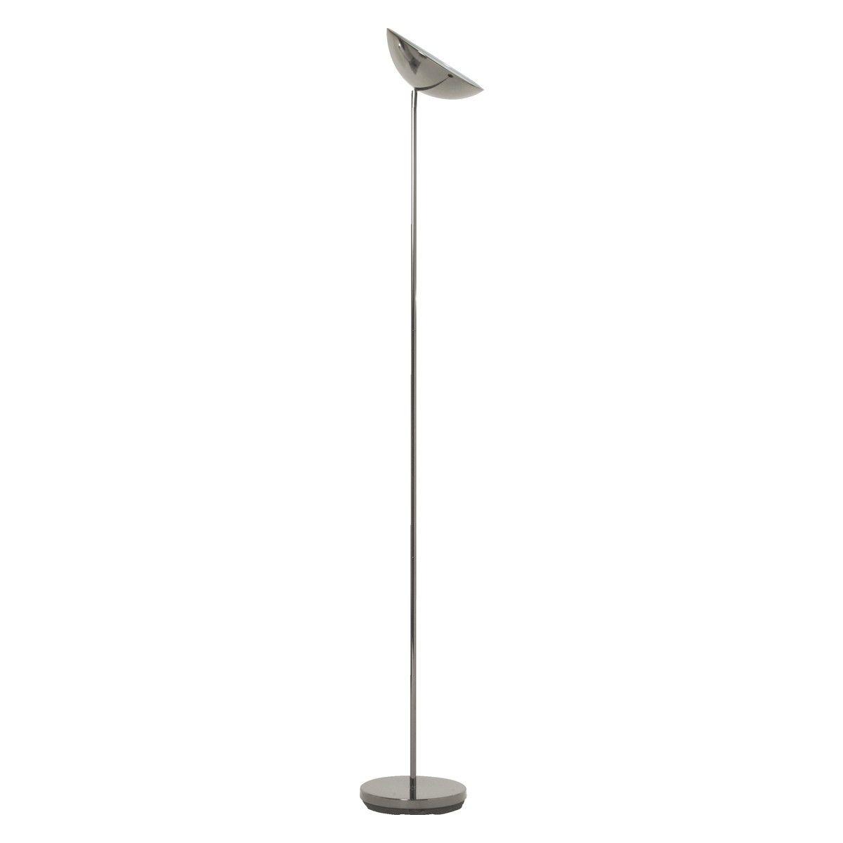 Duke Gunmetal Uplighter Floor Lamp Living Room Floor