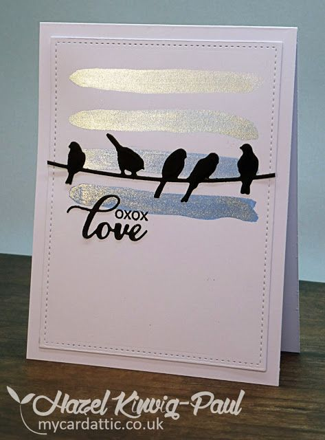 My Card Attic Inspirational Cards Simple Cards Sizzix Cards