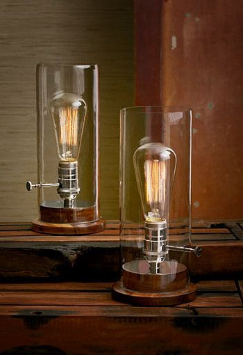 industrial table lamps lamps chandeliers pinterest lampen coole lampen and vintage lampen. Black Bedroom Furniture Sets. Home Design Ideas