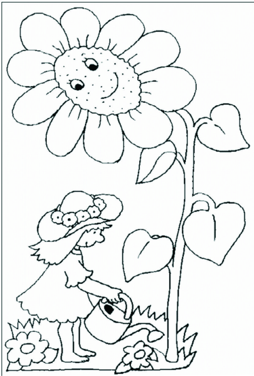 Planse De Colorat Flori 5 Jpg 829 1227 Coloring Pages Stained Glass Patterns Colouring Pages