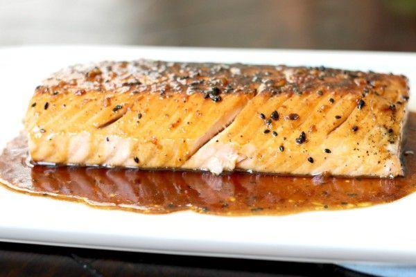 Honey Butter Glazed Salmon