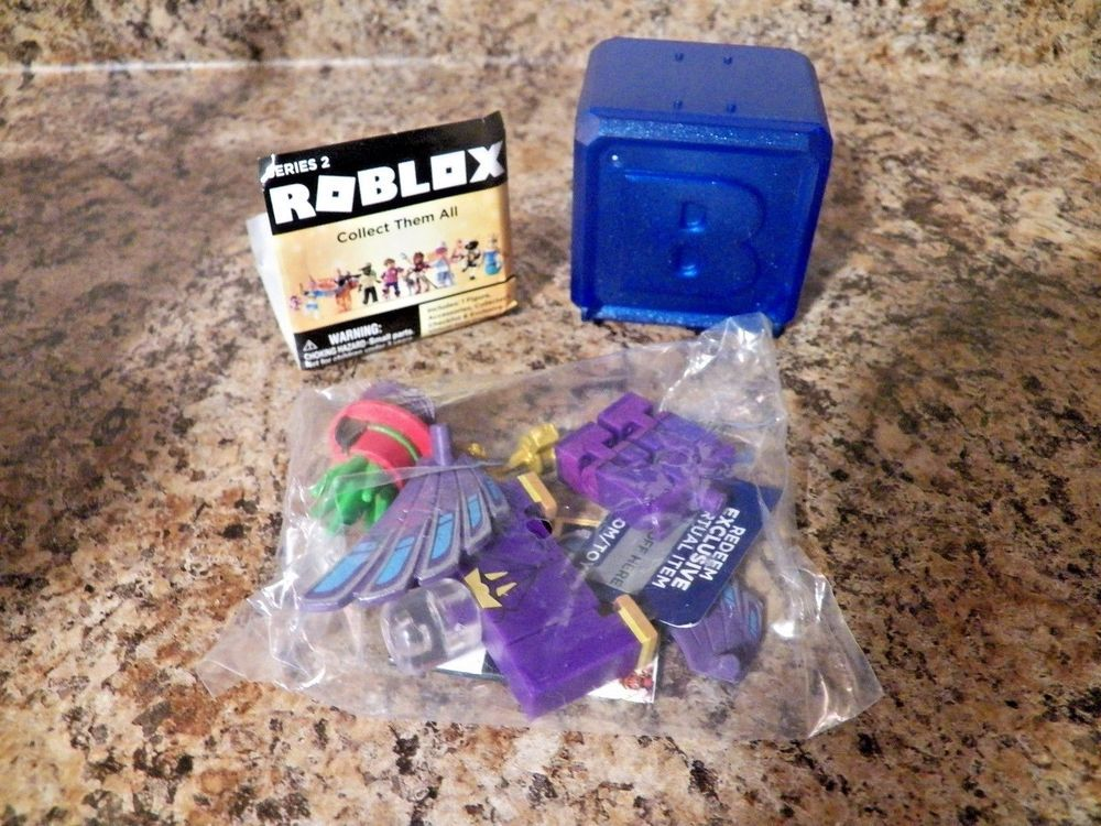 Details About Roblox Celebrity Collection Series 3 Mystery Pack Purple Cube - Crazyblox Roblox Celebrity Series 2 Blue Mystery Box Action
