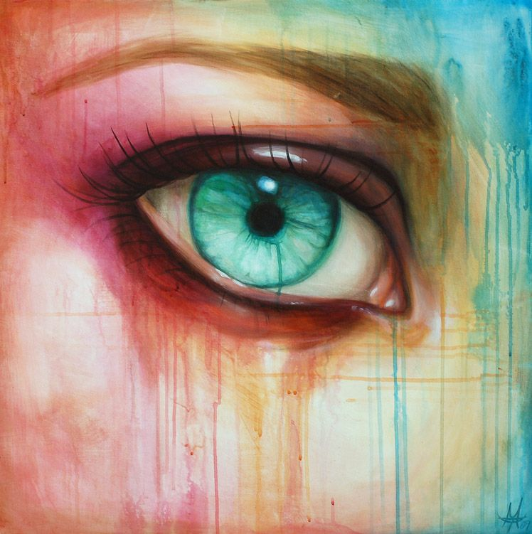 Beautiful Eyes Oil Paintings Eye Art Eye Painting Painting