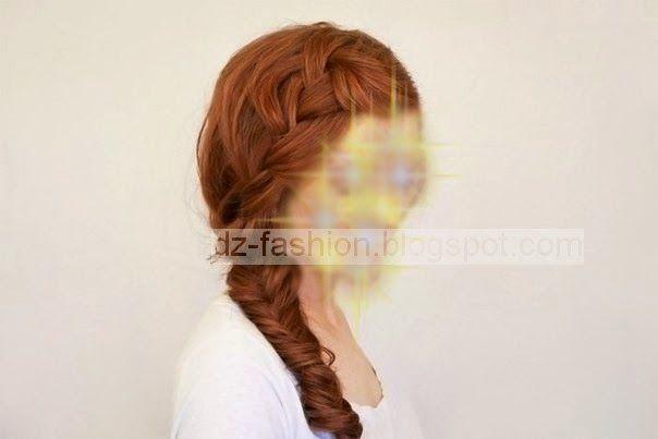 تسريحات شعر طويل بالخطوات Dz Fashion Long Hair Styles Hair Styles Step By Step Hairstyles