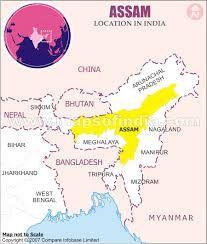 Rezultat Slika Za Assam India Map India Assam Pinterest