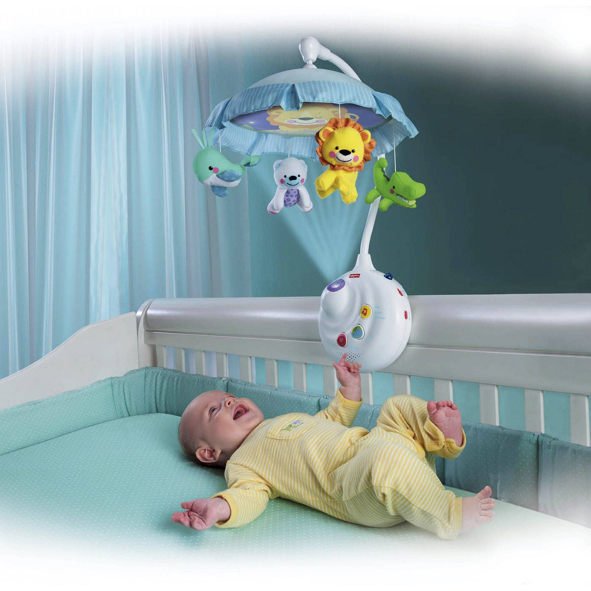 Fisher-Price 2-in-1 Projection Crib Mobile, Precious Planet | New ...