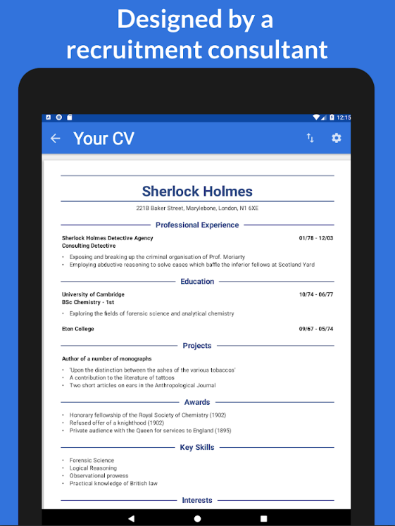 Mobile Apps to Help Make Your Resume Stand Out Marketing