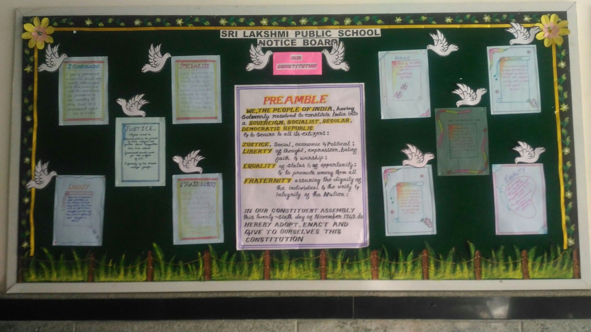 20+ Inspiration Indian Constitution Day Bulletin Board Ideas
