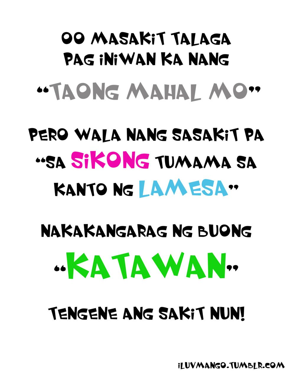 Tagalog Funny Love Quotes Tumblr  Images In Love Quotes Love Quotes Tumblr Funny