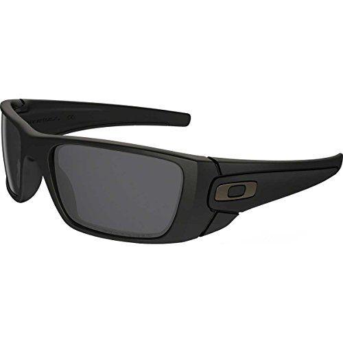 5fc5446541e Oakley Fuel Cell Men s Polarized Lifestyle Active Sports Sunglasses Eyewear  – Matte Black Matte Black Grey   One Size Fits All