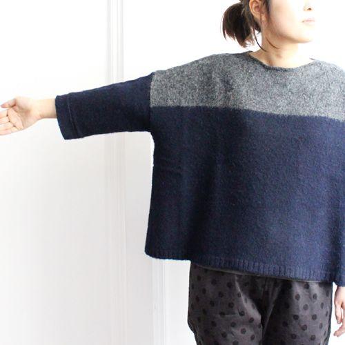 mao made color block sweater