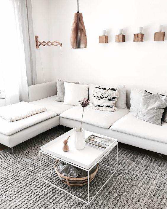 IKEA Soderhamn Sectional In White