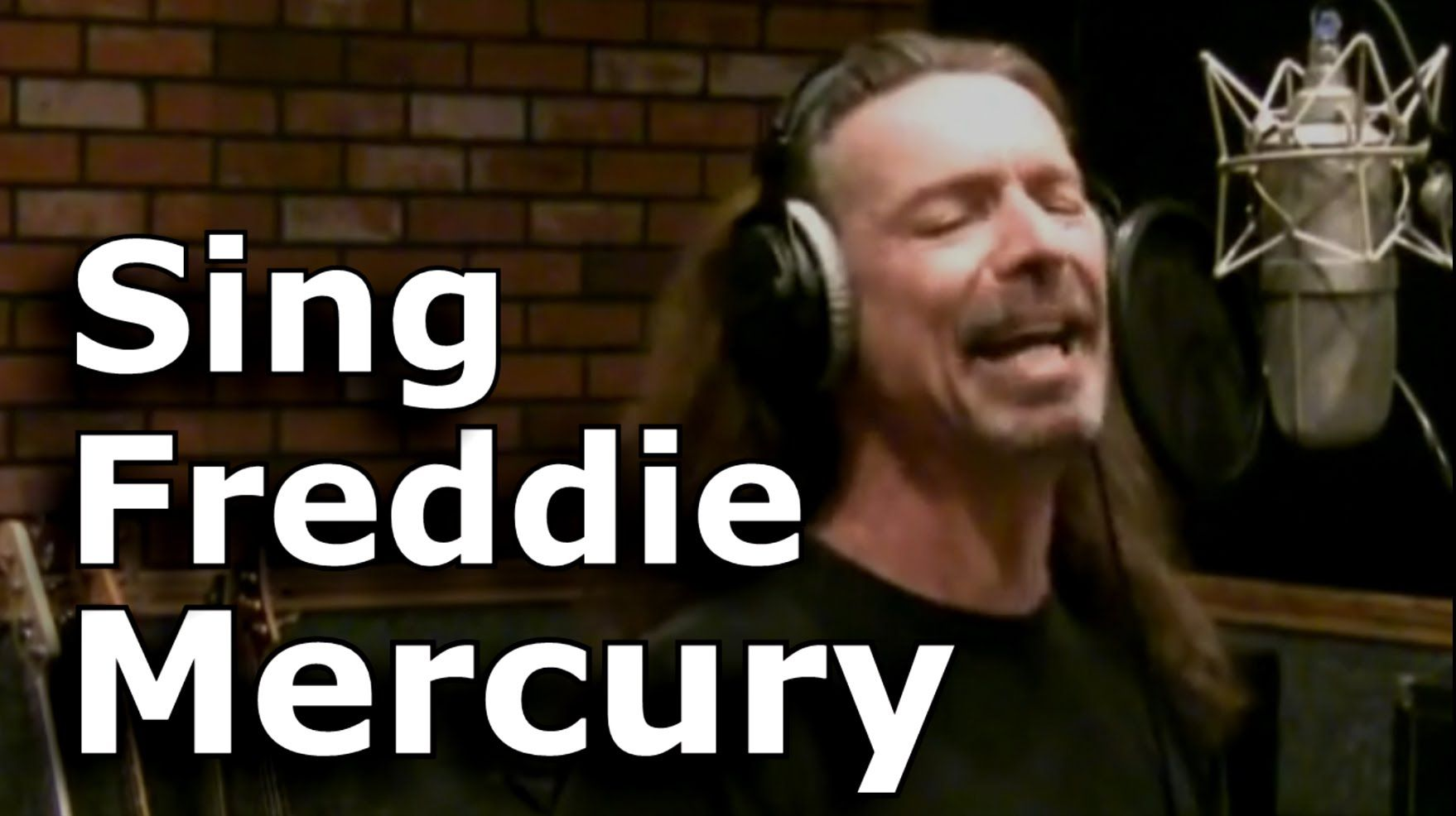 Improve Voice - Sing Classic Rock In The Style Of FREDDIE MERCURY