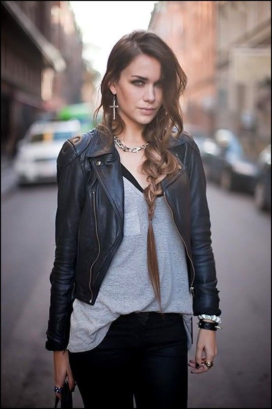 5 leather outfits for women